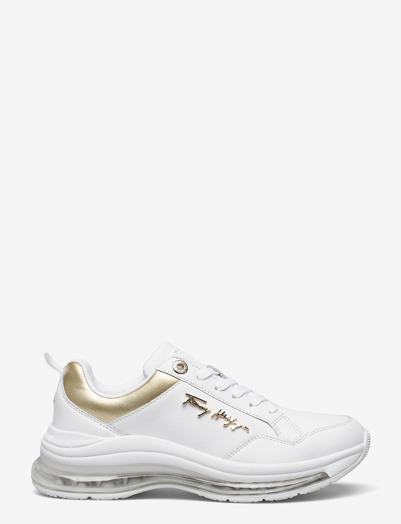 Tommy Hilfiger - CITY AIR RUNNER METALLIC - low top sneakers - white - 0