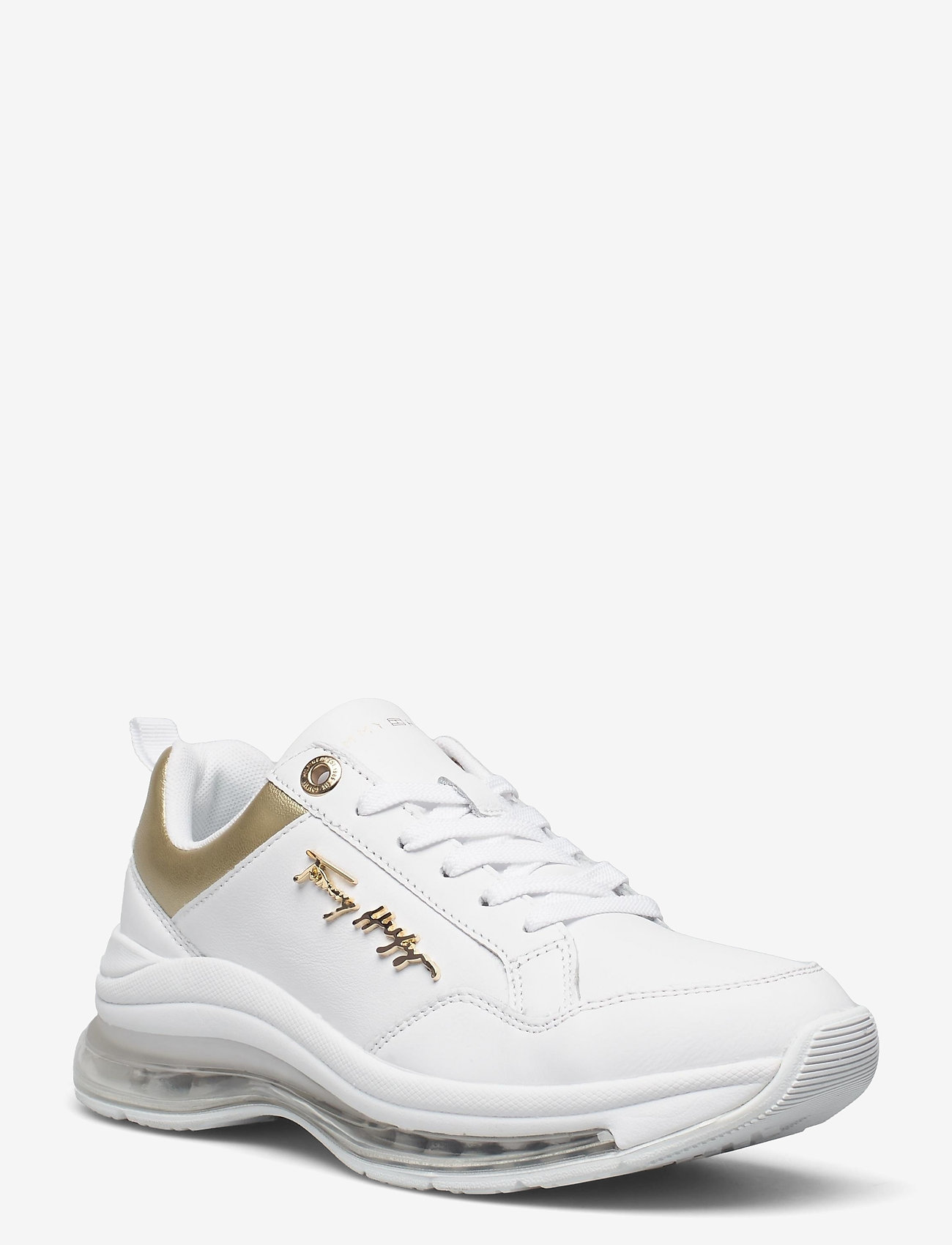 Tommy Hilfiger - CITY AIR RUNNER METALLIC - low top sneakers - white - 1