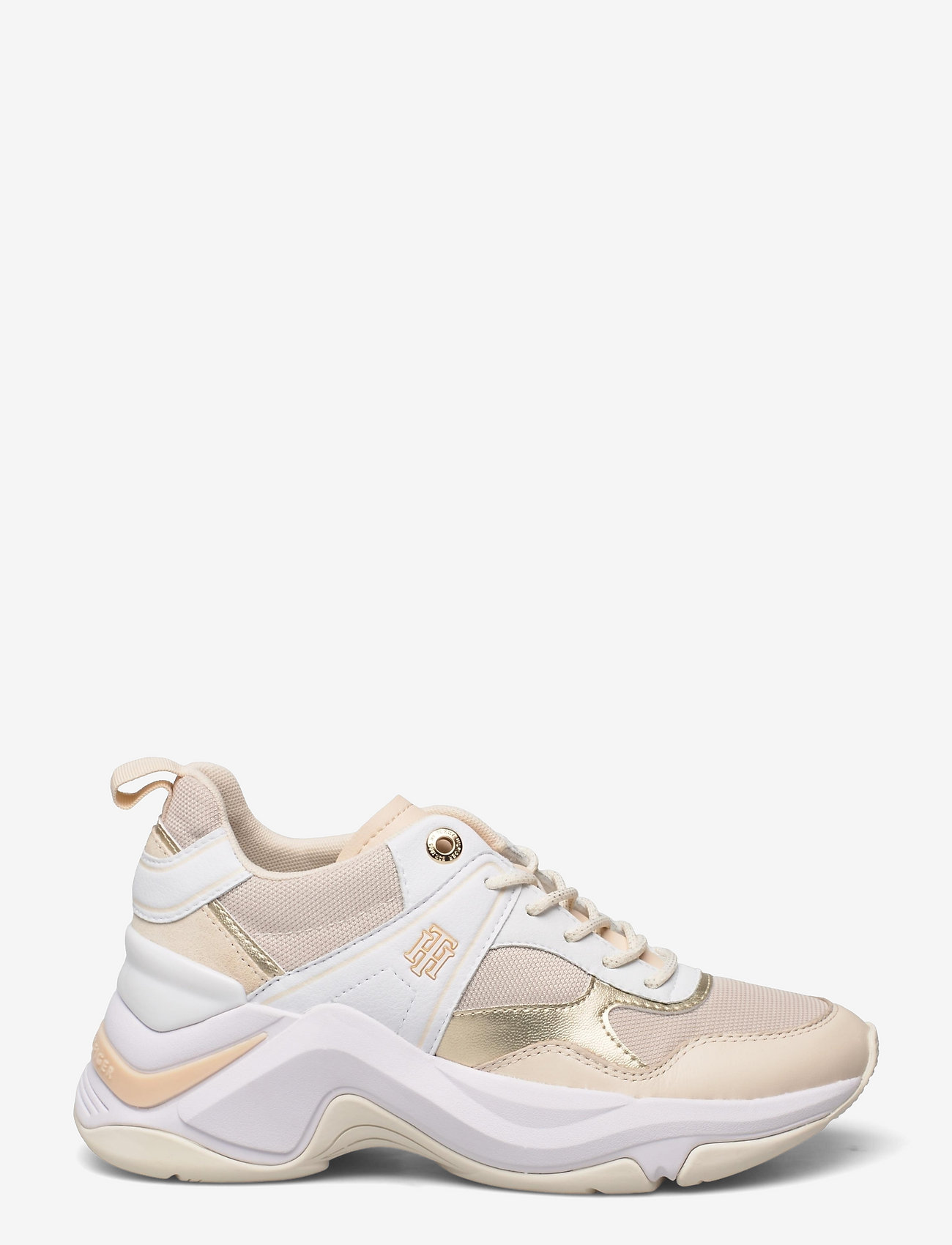 Tommy Hilfiger - FASHION WEDGE SNEAKER - low top sneakers - sugarcane - 1