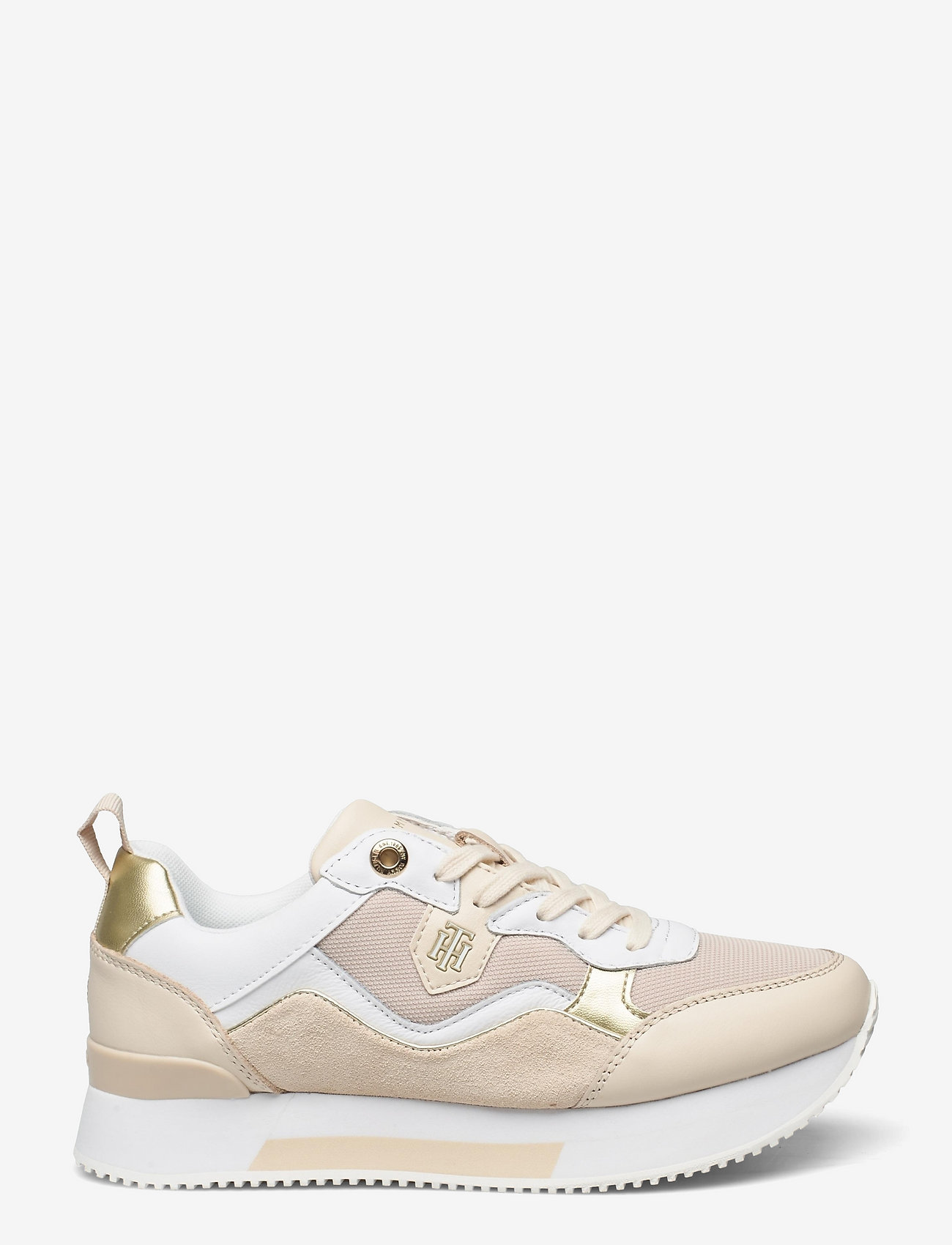 Tommy Hilfiger - MATERIAL MIX ACTIVE CITY SNEAKER - low top sneakers - sugarcane - 1