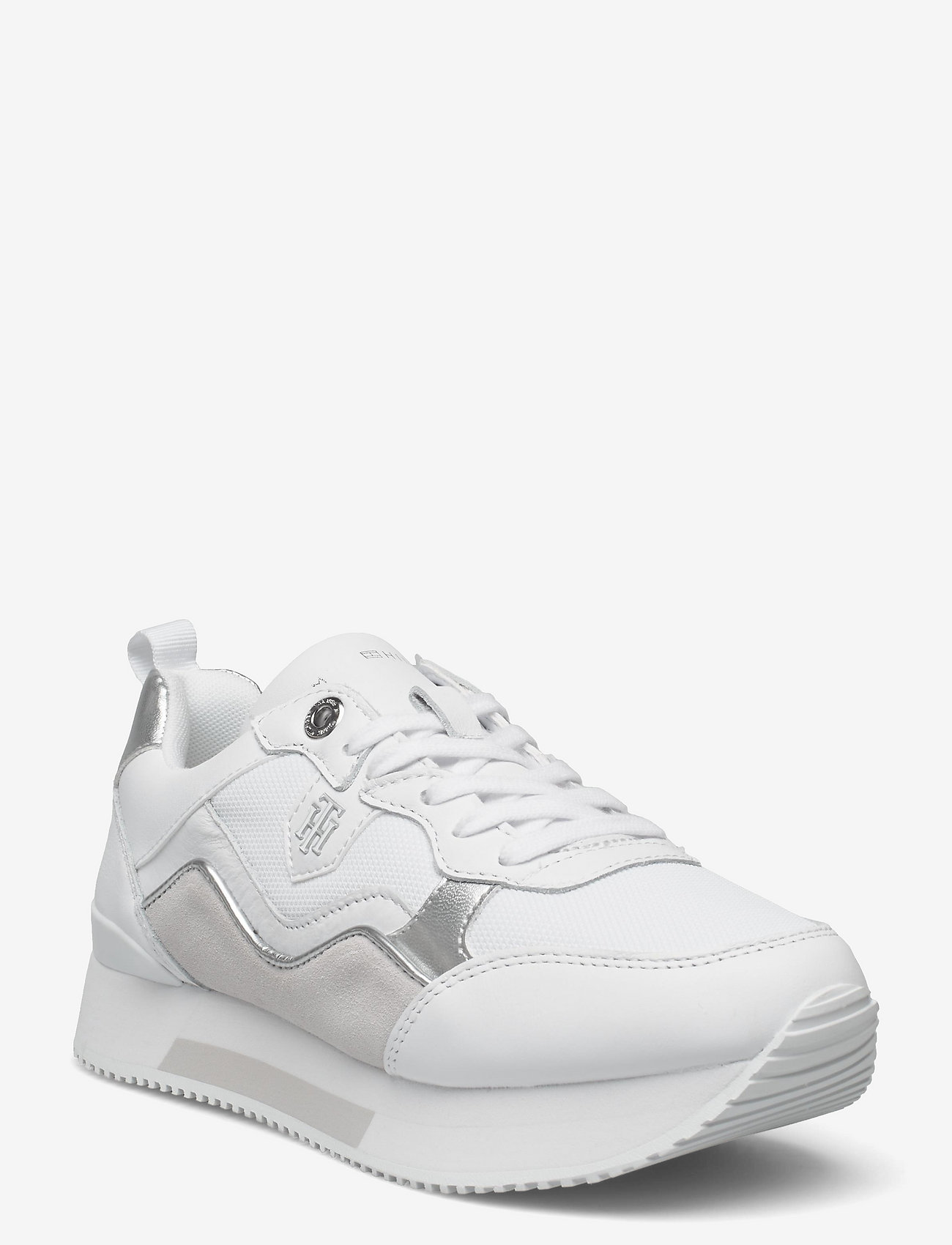Tommy Hilfiger - MATERIAL MIX ACTIVE CITY SNEAKER - low top sneakers - white - 0
