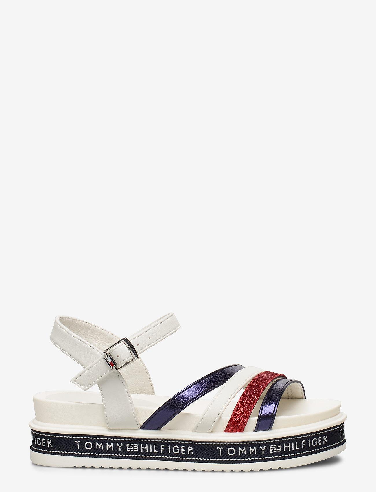 Tommy Hilfiger - PLATFORM SANDAL BLUE/RED/WHITE - sandals - blu/rosso/bianco - 1