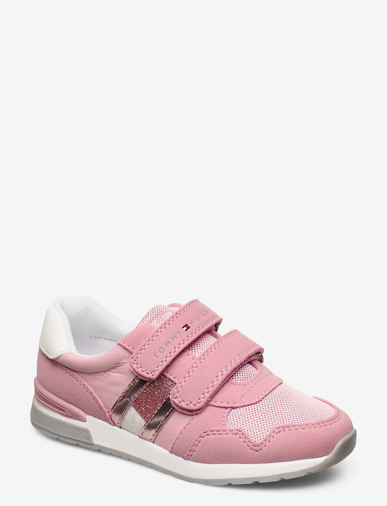 Tommy Hilfiger - LOW CUT VELCRO SNEAKER PINK - sandals - rosa - 0