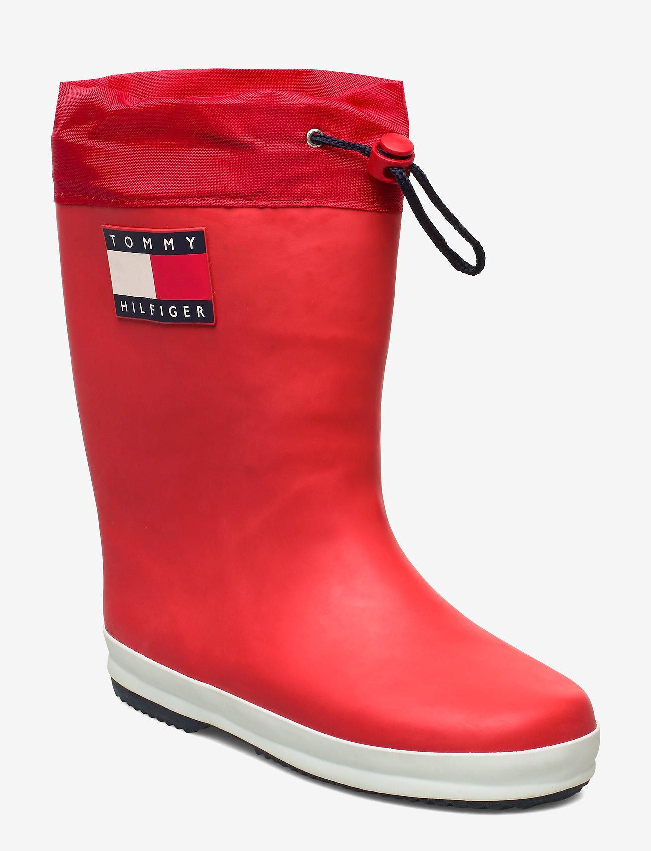 Tommy Hilfiger - RAIN BOOT BLUE - gummistøvler - rosso - 0