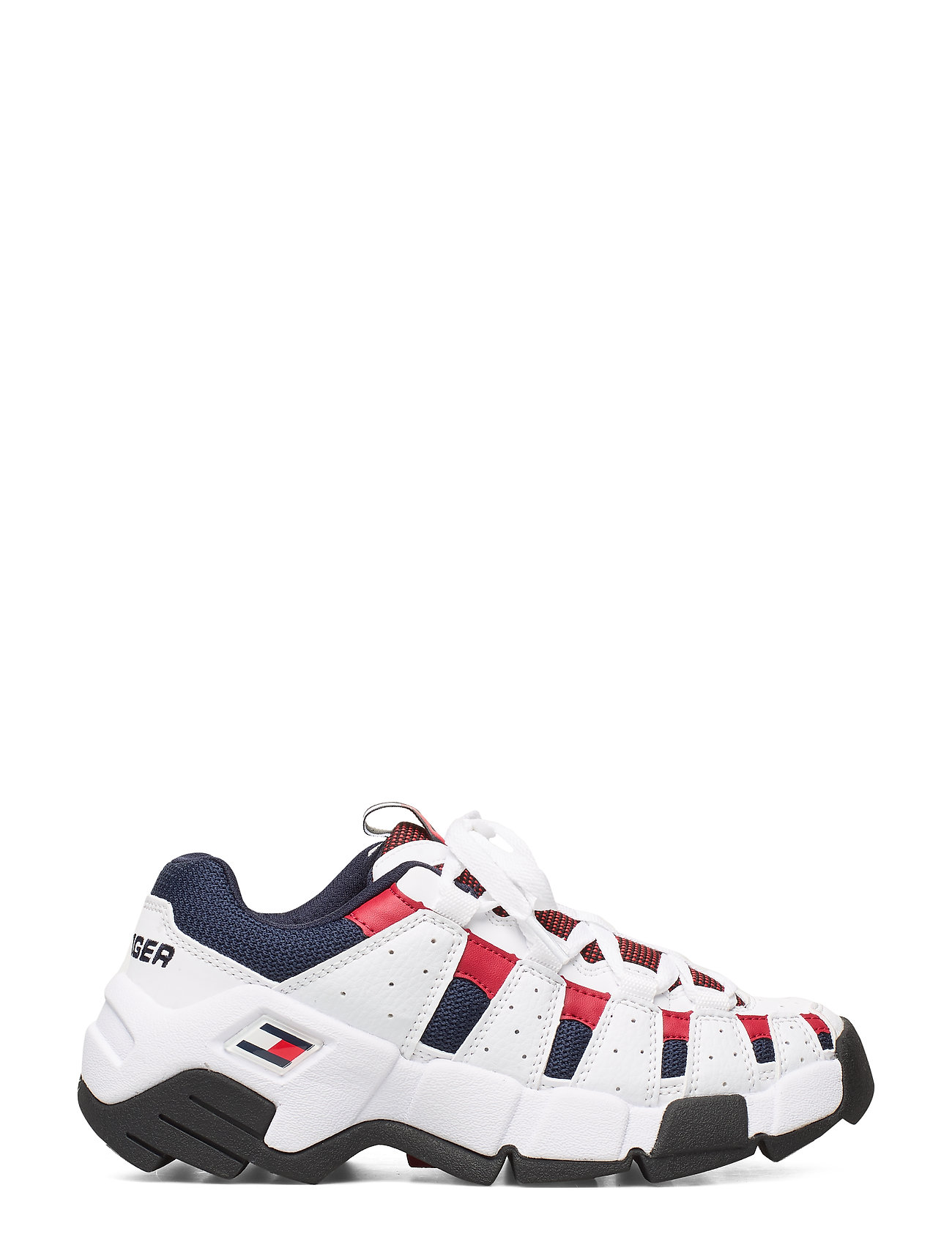 Wmns Chunky Heritage Sneaker Low-top Sneakers Hvid Tommy Hilfiger