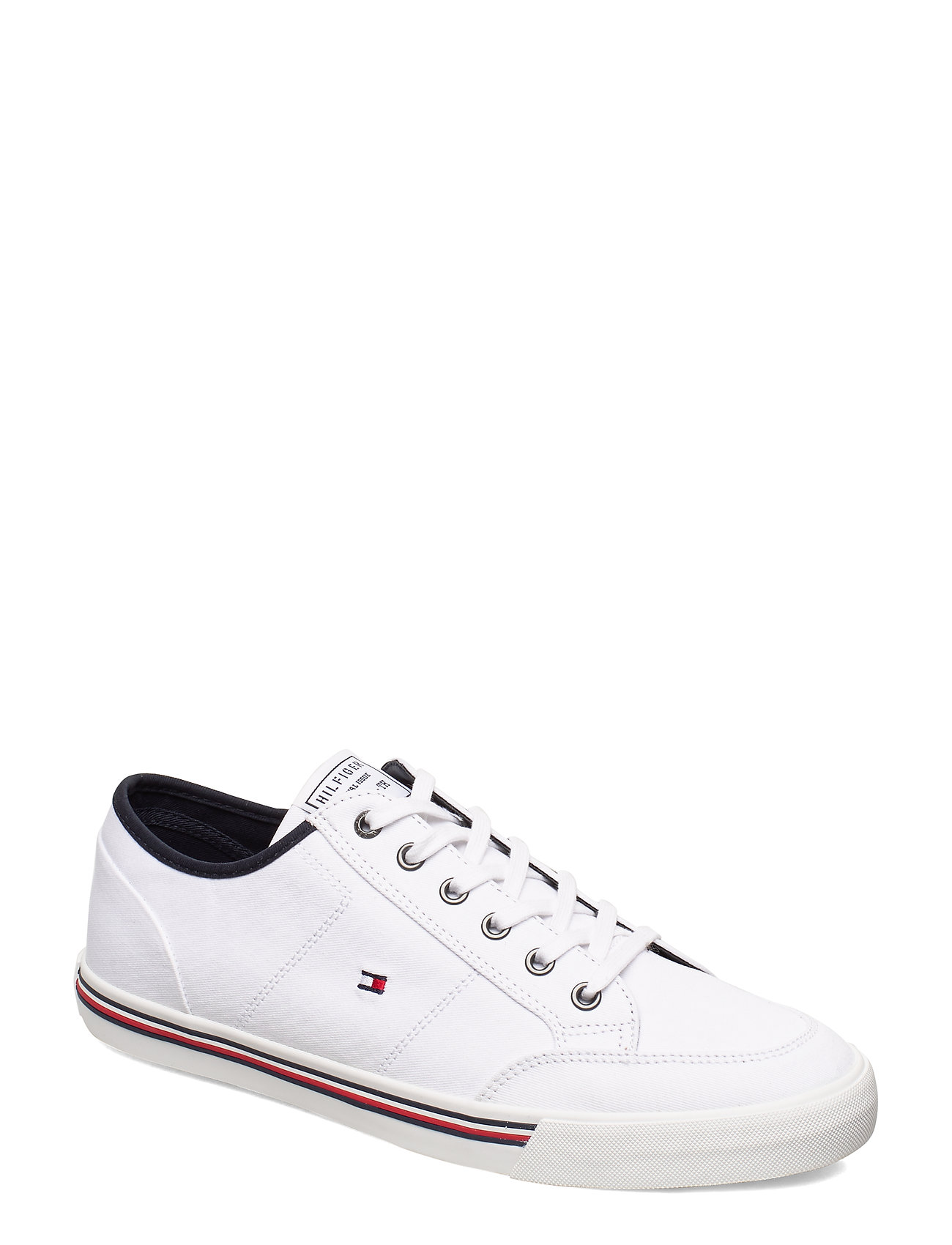 Core Corporate Textile Sneaker Matalavartiset Sneakerit Tennarit Valkoinen Tommy Hilfiger