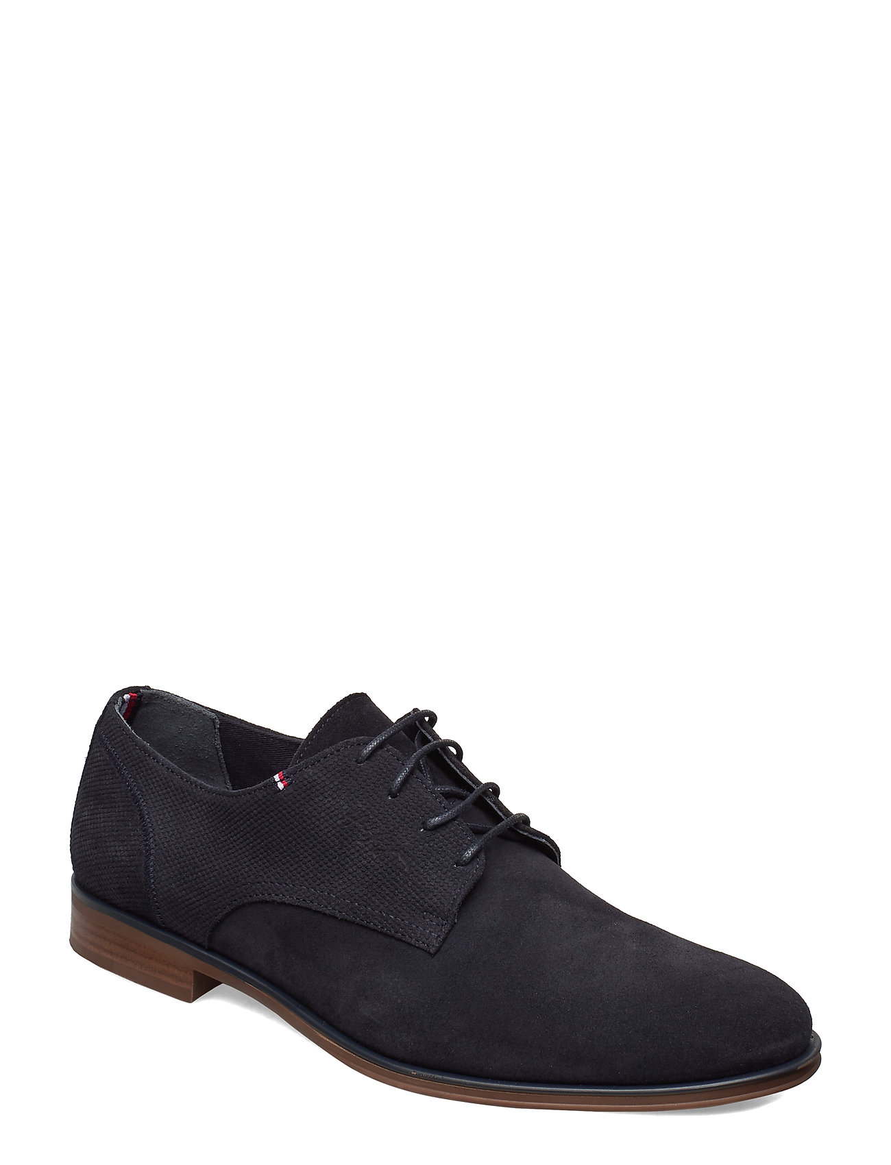 Image of Casual Embossed Suede Shoe Shoes Business Formal Shoes Sort Tommy Hilfiger (3352579259)