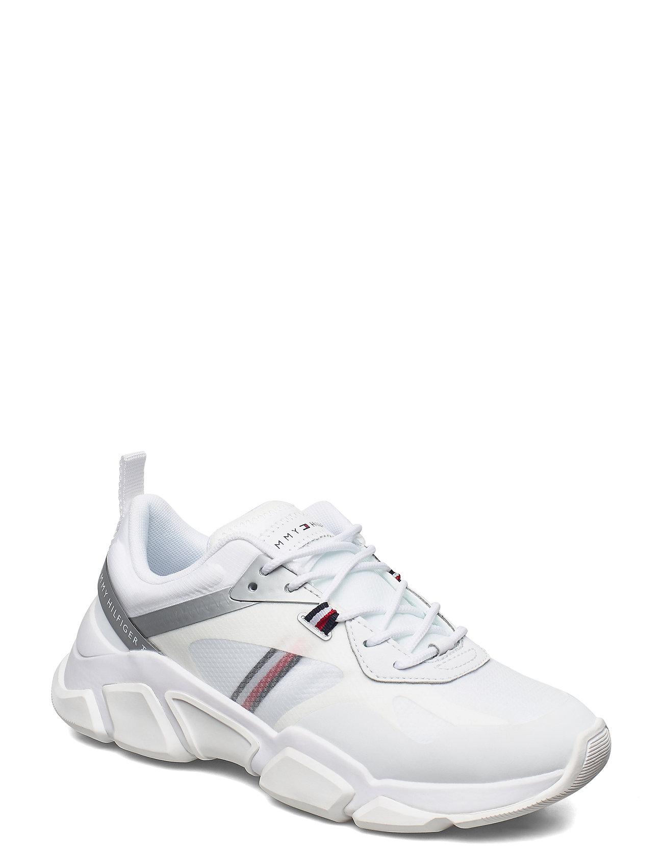 Image of Technical Chunky Tommy Sneaker Low-top Sneakers Hvid Tommy Hilfiger (3448709305)