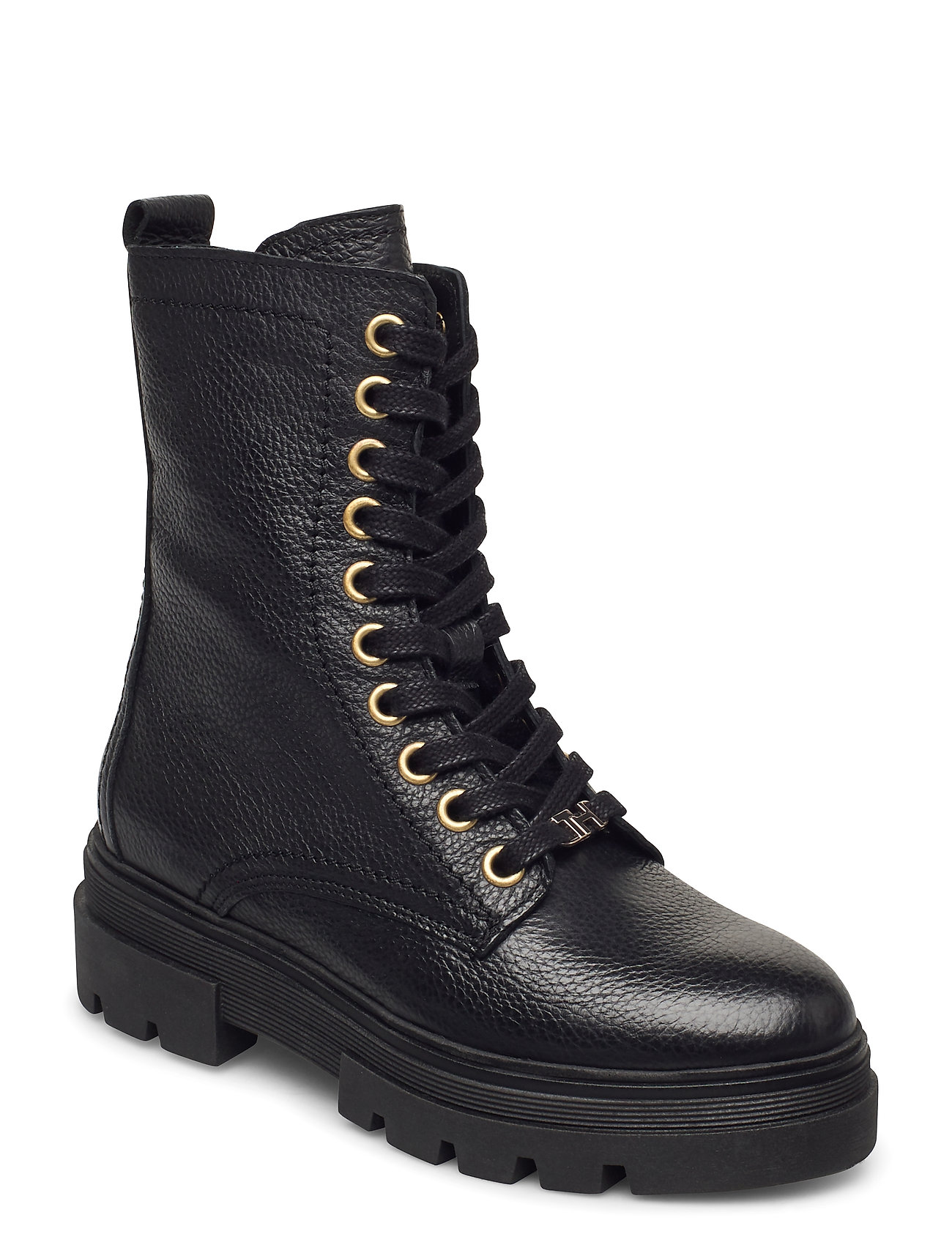 Image of Rugged Classic Bootie Shoes Boots Ankle Boots Ankle Boot - Flat Sort Tommy Hilfiger (3452229167)