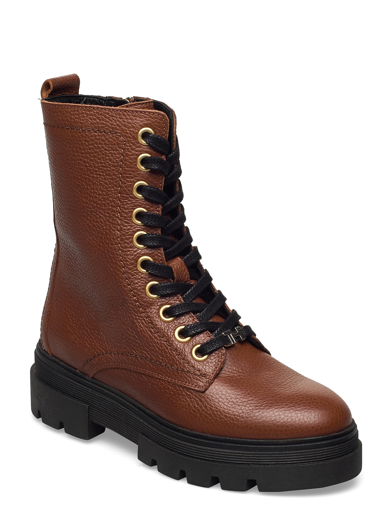 Image of Rugged Classic Bootie Shoes Boots Ankle Boots Ankle Boot - Flat Brun Tommy Hilfiger (3456990959)