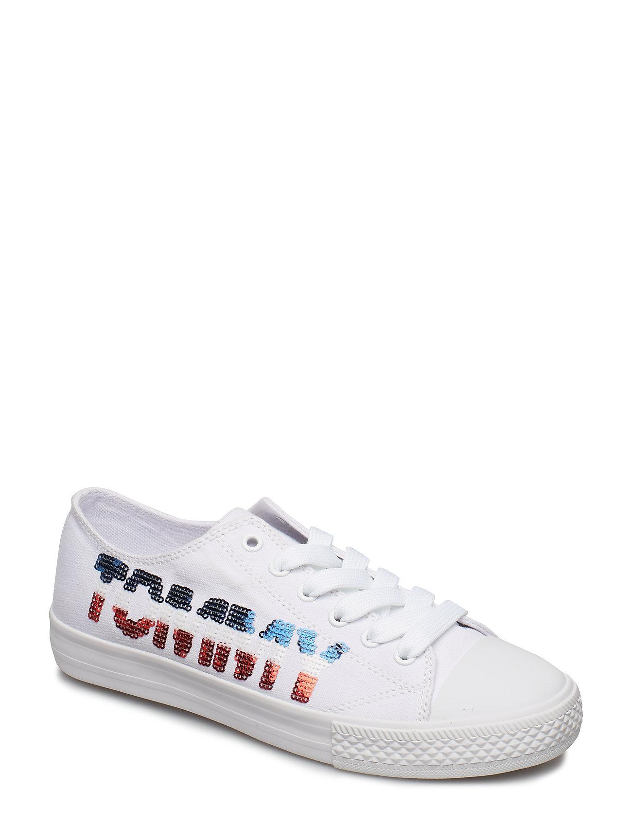 9b7709f4 Tommy Hilfiger sneakers – Low Cut Lace-Up (Can. Ivory) til børn i ...