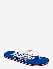 Tommy Hilfiger - TOMMY JEANS BEACH SA - flip-flops - white - 0
