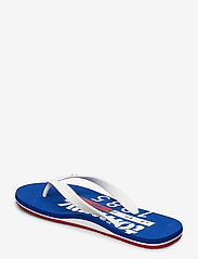 Tommy Hilfiger - TOMMY JEANS BEACH SA - flip-flops - white - 2