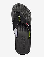 Tommy Hilfiger - COMFORT FOOTBED BEAC - flip-flops - black - 3