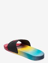 Tommy Hilfiger - DEGRADE SEASONAL FLAG SLIDE - pool sliders - light cerise pink - 2