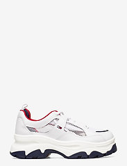 Tommy Hilfiger - RECYCLED MESH FLATFORM SHOE - chunky sneakers - twillight navy - 1