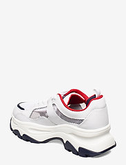 Tommy Hilfiger - RECYCLED MESH FLATFORM SHOE - chunky sneakers - twillight navy - 2