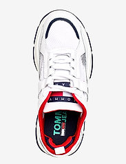 Tommy Hilfiger - RECYCLED MESH FLATFORM SHOE - chunky sneakers - twillight navy - 3