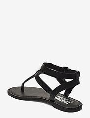 Tommy Hilfiger - TOMMY JEANS FLAT SANDAL - flade sandaler - black - 2