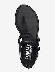 Tommy Hilfiger - TOMMY JEANS FLAT SANDAL - flade sandaler - black - 3