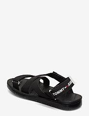Tommy Hilfiger - TOMMY SURPLUS FLAT SANDAL - flade sandaler - black - 2