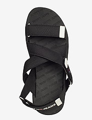 Tommy Hilfiger - TOMMY SURPLUS FLAT SANDAL - flade sandaler - black - 3