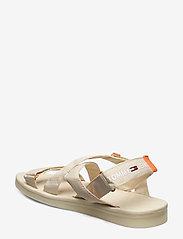 Tommy Hilfiger - TOMMY SURPLUS FLAT SANDAL - flat sandals - light silt - 2