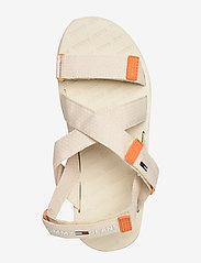 Tommy Hilfiger - TOMMY SURPLUS FLAT SANDAL - flat sandals - light silt - 3