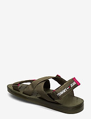 Tommy Hilfiger - TOMMY SURPLUS FLAT SANDAL - flade sandaler - olive tree - 2