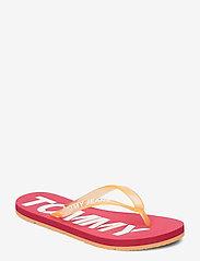 Tommy Hilfiger - POP COLOR BEACH SAND - klip-klapper - blush red - 0