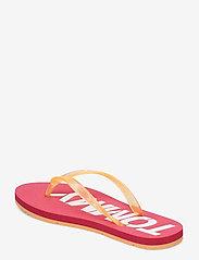 Tommy Hilfiger - POP COLOR BEACH SAND - klip-klapper - blush red - 2