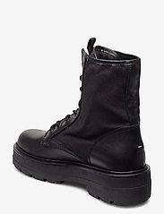Tommy Hilfiger - TOMMY JEANS FLATFORM BOOT - flat ankle boots - black - 2