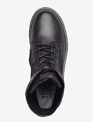Tommy Hilfiger - TOMMY JEANS FLATFORM BOOT - flat ankle boots - black - 3