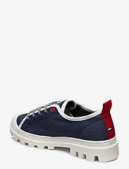 Tommy Hilfiger - COLOR BLOCK LACE UP SHOE - low top sneakers - twillight navy - 2