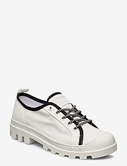 Tommy Hilfiger - COLOR BLOCK LACE UP SHOE - low top sneakers - white - 0
