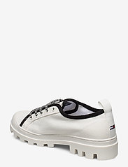 Tommy Hilfiger - COLOR BLOCK LACE UP SHOE - low top sneakers - white - 2
