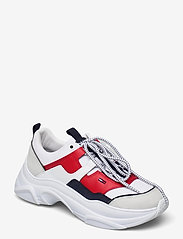 Tommy Hilfiger - TOMMY JEANS LIGHTWEIGHT SHOE - chunky sneakers - rwb - 0