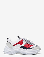 Tommy Hilfiger - TOMMY JEANS LIGHTWEIGHT SHOE - chunky sneakers - rwb - 1