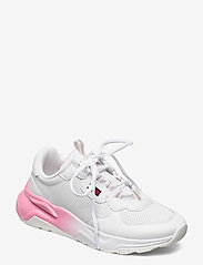 Tommy Hilfiger - CHUNKY TECH GRADIENT RUNNER - low top sneakers - white - 0