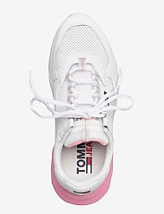 Tommy Hilfiger - CHUNKY TECH GRADIENT RUNNER - low top sneakers - white - 3