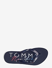 Tommy Hilfiger - RUBBER THONG BEACH SANDAL - teenslippers - twilight navy - 3