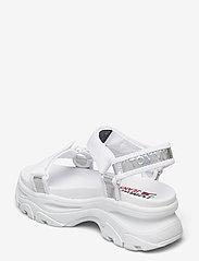 Tommy Hilfiger - IRIDESCENT HYBRID SANDAL - flat sandals - white - 2
