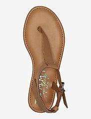 Tommy Hilfiger - ESSENTIAL TOE POST FLAT SANDAL - flat sandals - summer cognac - 2