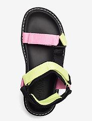Tommy Hilfiger - COLOR POP TOMMY JEANS SANDAL - flat sandals - black - 3