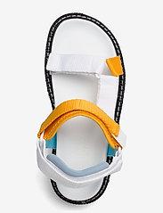 Tommy Hilfiger - COLOR POP TOMMY JEANS SANDAL - flat sandals - white - 3