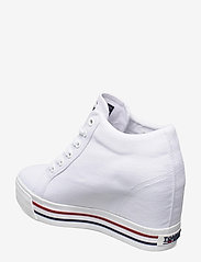 Tommy Hilfiger - TOMMY JEANS WEDGE SNEAKER - hoge sneakers - white - 2