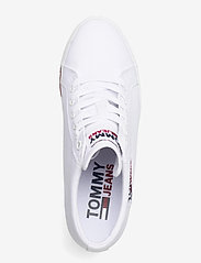 Tommy Hilfiger - TOMMY JEANS WEDGE SNEAKER - hoge sneakers - white - 3