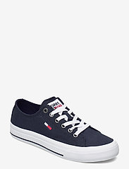 Tommy Hilfiger - TOMMY JEANS LOW CUT VULC - low top sneakers - twilight navy - 0