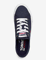 Tommy Hilfiger - TOMMY JEANS LOW CUT VULC - low top sneakers - twilight navy - 3