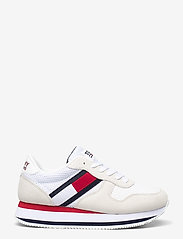 Tommy Hilfiger - TOMMY JEANS FLATFORM RUNNER - sneakers - white - 1